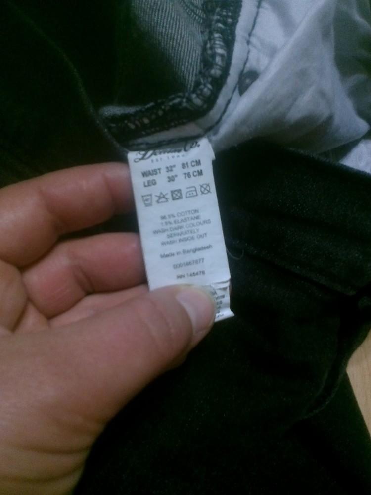 Фирменные джинсы 32 р. фото №6
