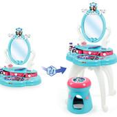 Smoby Туалетный столик Холодное сердце 2 в 1 Frozen 320214