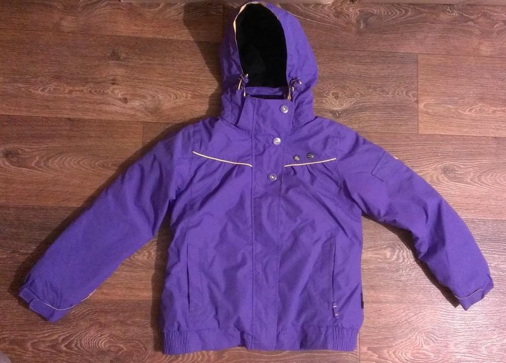 Шикарная термо-куртка, на 9-10 лет фото №1