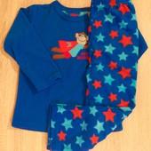Primark флисовая пижама для мальчика 3-4 г
