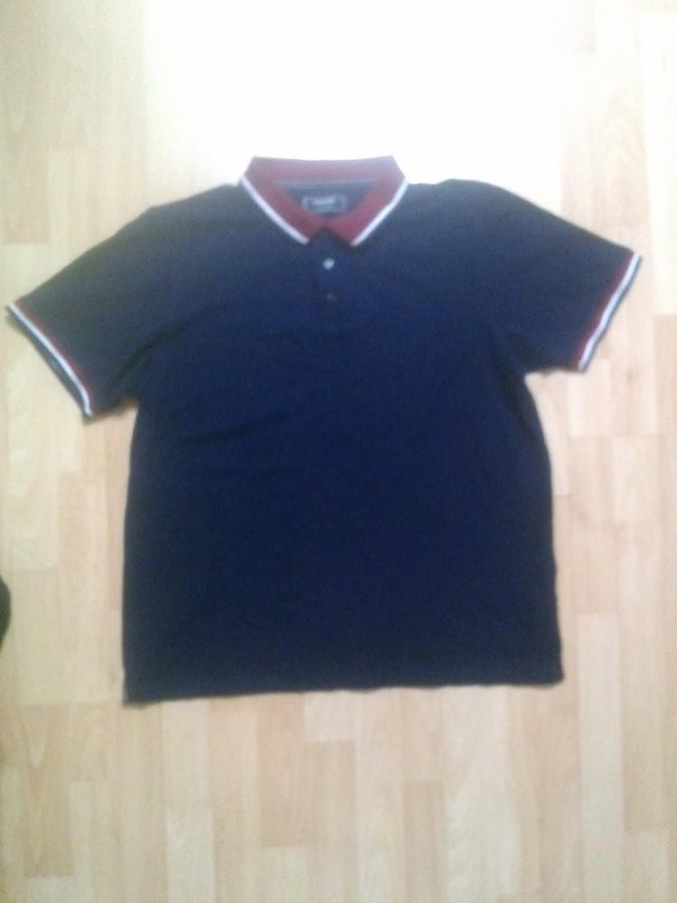 Фирменная футболка поло тениска L фото №1