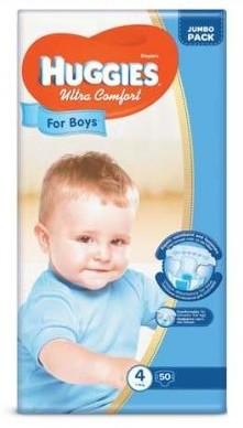 Подгузники huggies ultra comfort для мальчиков размеры 3, 4, 5 фото №3