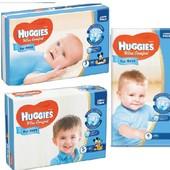 Подгузники Huggies Ultra Comfort для мальчиков размеры 3, 4, 5