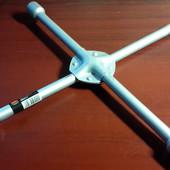 Ключ балонный 17х19х21мм крест усил Дк  колесный  DK2811 4