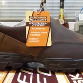 Skechers  новые оригинал кожаные туфли  размер 44