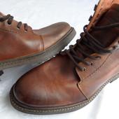 Кожаные деми ботинки Bench оригинал (Португалия) размер 42-43