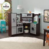 Детская кухня KidKraft Ultimate Espresso светло и звук