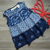 Блуза, туника с узором H&M (2-3 года)