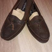 Туфли мокасины р.9,5 стелька 28 см.