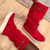 Зима! Ботинки сапожки в наличии! Натуралочка!