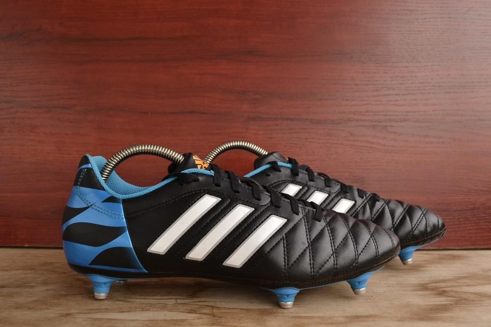 -adidas 11 questra sg -made in cambodia -размер 43 / 27 см -состояние идеальное (1 раз обувались) фото №1