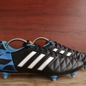 -Adidas 11 Questra SG -made in Cambodia -размер 43 / 27 см -состояние идеальное (1 раз обувались)