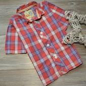 Рубашка в клетку стильная TU (2-3 года)
