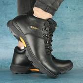 Ботинки Ecco зимние, р 41-45, на меху, код gavk-10466