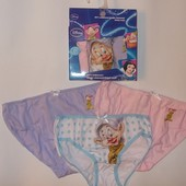 Комплект  трусиков 3 шт для девочки 2-8 лет арт730