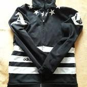 Фирменная спортивная кофта Adidas р.46 М