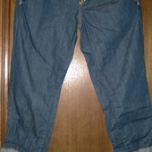 Капри джинсовые р.40 на р.160см,S United