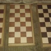 Шахматная доска ручной работы.
