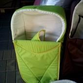 Люлька переноска комфорт для новорожденных