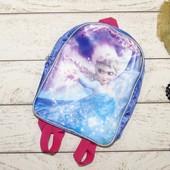 Disney ( 23*30см) рюкзак с Эльзой. Холодное сердце!