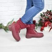 Ботинки!Зима!Размер 36,37,38,39,40,41 в наличии!Новинки!а3952