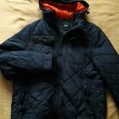 Тёплая фирменная куртка на синтепоне F&F р.48-50 М