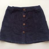 5 л (110) Zara юбка микровельвет