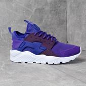 Кроссовки Nike Air Huarache Ultra violet р. 36,37,38, код mvvk-610Н
