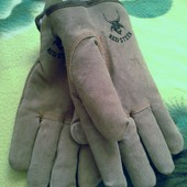 Мужские перчатки Red Steer на меху, из США.