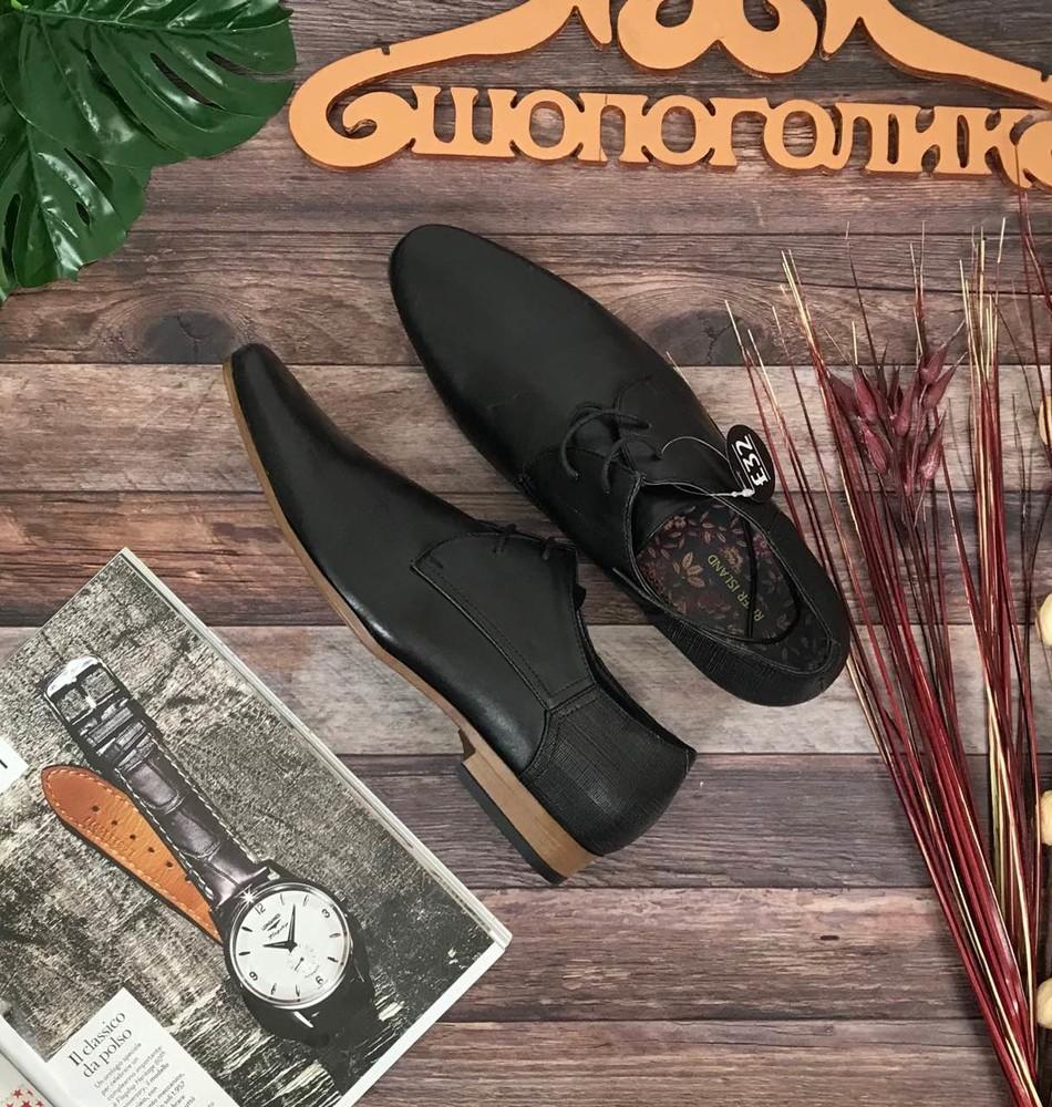 Мужские классические туфли river island с гладким кожаным верхом sh50087  фото №1 ced5c9043d6