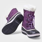 Оригінальні снігоходи сапоги ботинки термо темп. режим до -40 sorel yoot pac waterproof 37 розмір
