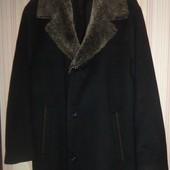 Feraud классическое мужское пальто 90%шерсть+10% кашемир 52 р-р