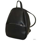 Удобный  вместительный рюкзак черный синий   мат  Луцк качество