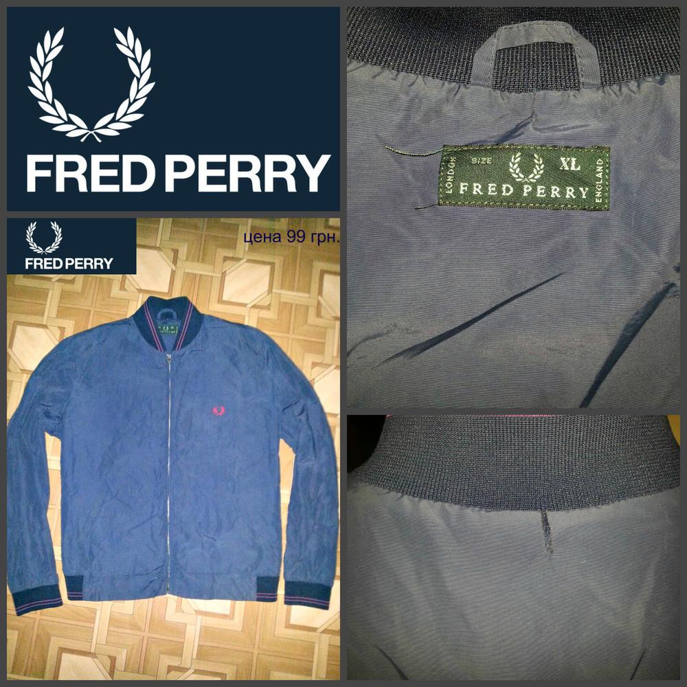 Fred perry, оригинал, xl !!! фото №1