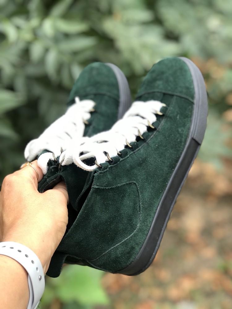 Кеды ботинки  кожа замша новинка ! возможны разные цвета ! фото №19