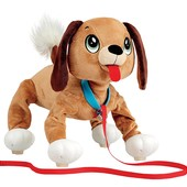 Интерактивная игрушка Peppy Pets Веселая прогулка Бассет 28 см