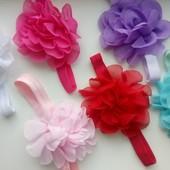 Очаровательные милые и нежные повязки повязочки цветочек
