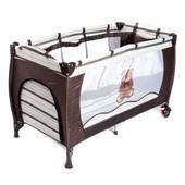 Детская кровать-манеж 546 2 уровня
