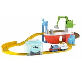 Fisher-Price томас и Ддрузья доставка акул BMF08 thomas friends shark delivery deluxe set