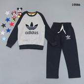 Теплый костюм Adidas для мальчика 3 цвета