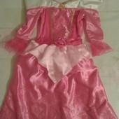 Продам нарядное платье Аврора девочке 4-5лет, Disney.
