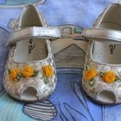 Нарядные туфельки 20 размер
