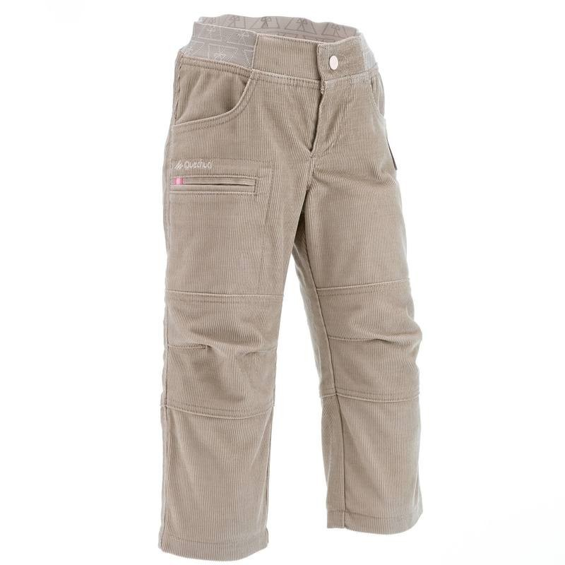 Утепленные штаны для девочек quechua р 92 98 104 фото №1