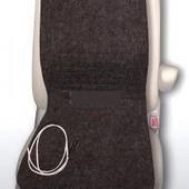Инфракрасная накидка-обогреватель для детского кресла в автомобиле