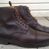 Ботинки Cap-Toe Boots р-р. 41.5-42-й  (26.5-27см)