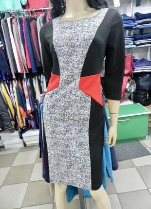 Платье нарядное, стройнит фото №1