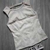 Красивая блуза с интересной спинкой р. 44-46