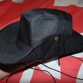 Стильная фирменная шляпа панама панамка Ganz.56-58