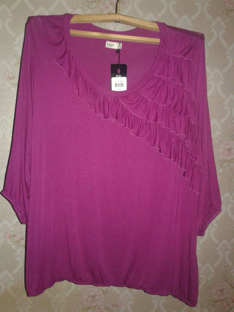 Новая блузка/кофточка тм josie. размер 54/56. фото №1