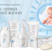 Новая детская серия 0 +   от Faberlic - BaBy косметика для новорожденных